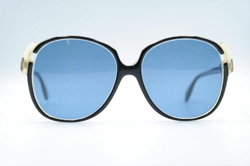 Besorgt Vintage Silhouette Mod 105 515 Schwarz Rund Sonnenbrille Sunglasses Brille Nos MöChten Sie Einheimische Chinesische Produkte Kaufen?