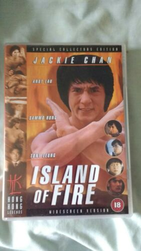 1 of 1 - ISLAND OF FIRE DVD JACKIE CHAN