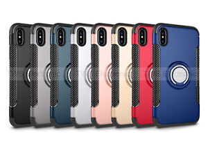 Etui-Pour-iPhone-7-Luxe-Bague-Doigt-Grip-support-voiture-arriere-dur-stand-Cover