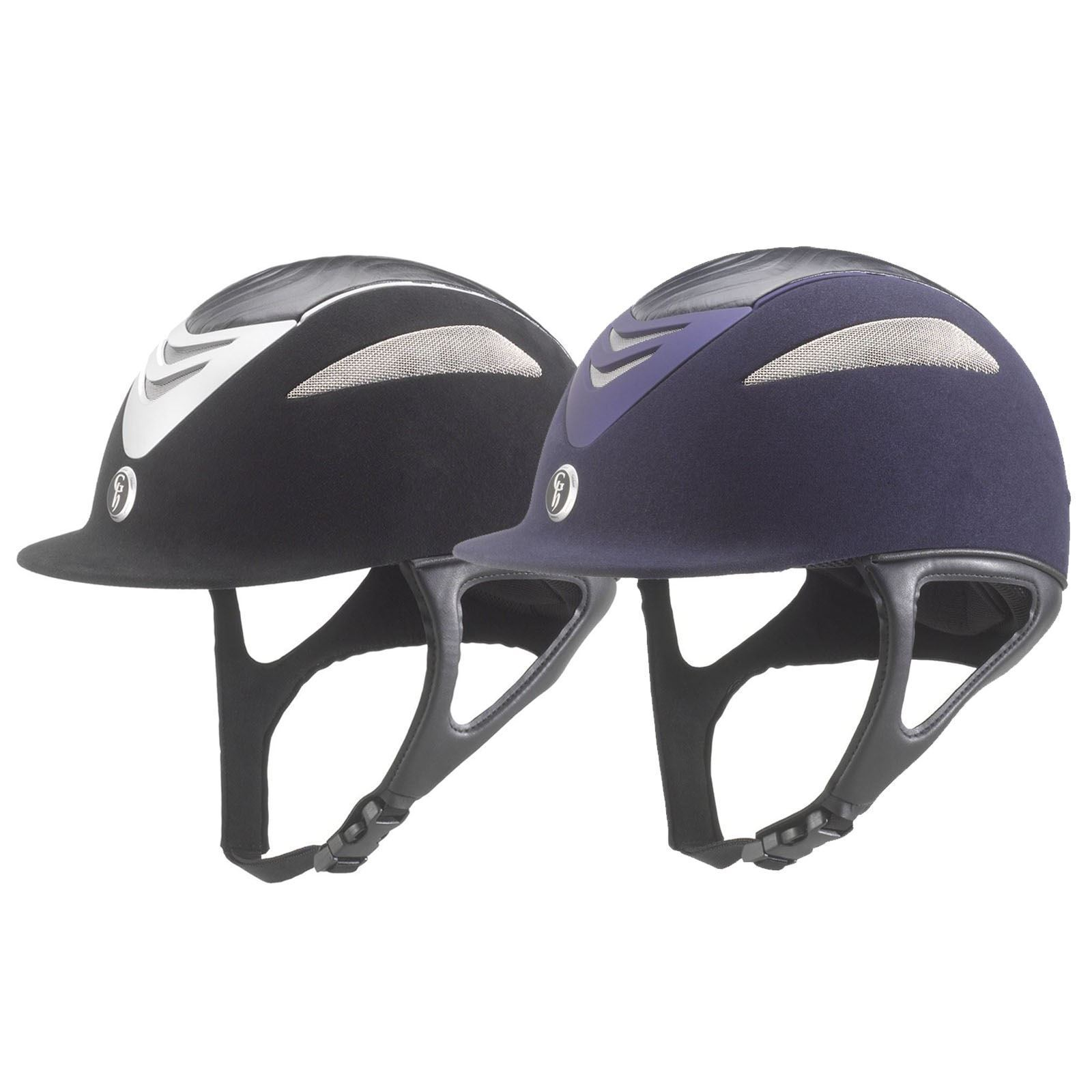 Gatehouse Conquest Horse Show Jumping Competition Leather  Suede Helmet Free Bag  online shopping