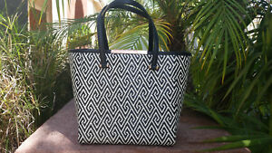 f69f882512 Image is loading Ted-Baker-Natasha-woven-large-tote-black-and-