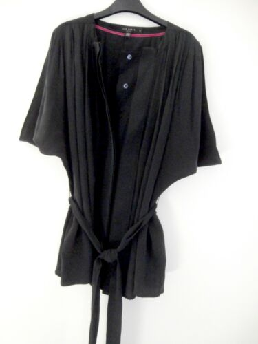 Size Ted Silk Immaculate Uk Top 2 Cream Women's Designer 10 Baker Blouse 100 5XwHT8q