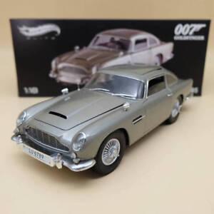 Hot-wheels-elite-1-18-Aston-Martin-DB5-007-JAMES-BOND-Goldfinger-BLY20-Diecast