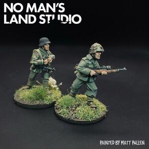 PRO PAINTED WW2 GERMAN Cecchini - 28mm 1/56 SPLINTER CAMO-BOLT ACTION