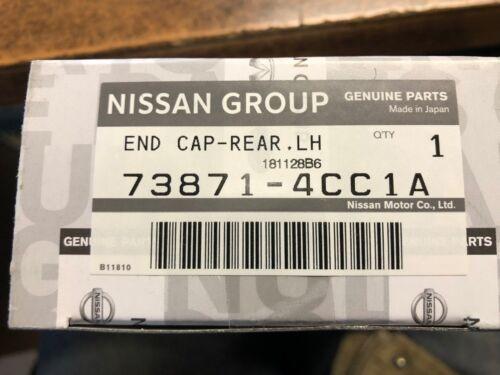 NEW OEM 2014-2017 NISSAN ROGUE ROOF RACK REAR CAP DRIVER SIDE JAPAN BUILT