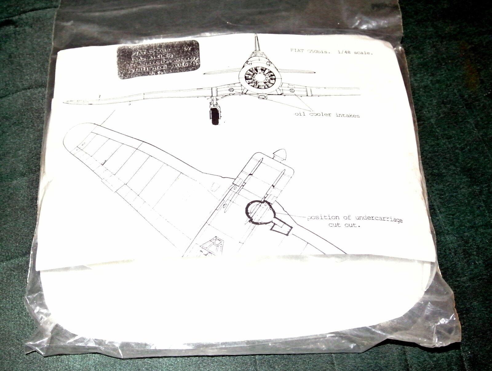 1 48 FIAT G.50 FRECCIA BY C.A. ATKINS ( 15)