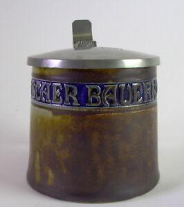 Richard Riemerschmied - Jugendstil Bierkrug Bayerischer Bauernverband