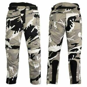 Mens-Cordura-Motorcycle-Pants-Trousers-Ce-armor-Biker-Thermal-Liner-Trouser
