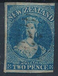 10040-New-Zealand-good-classic-stamp-fine-very-fine-used-Star-Wtmk