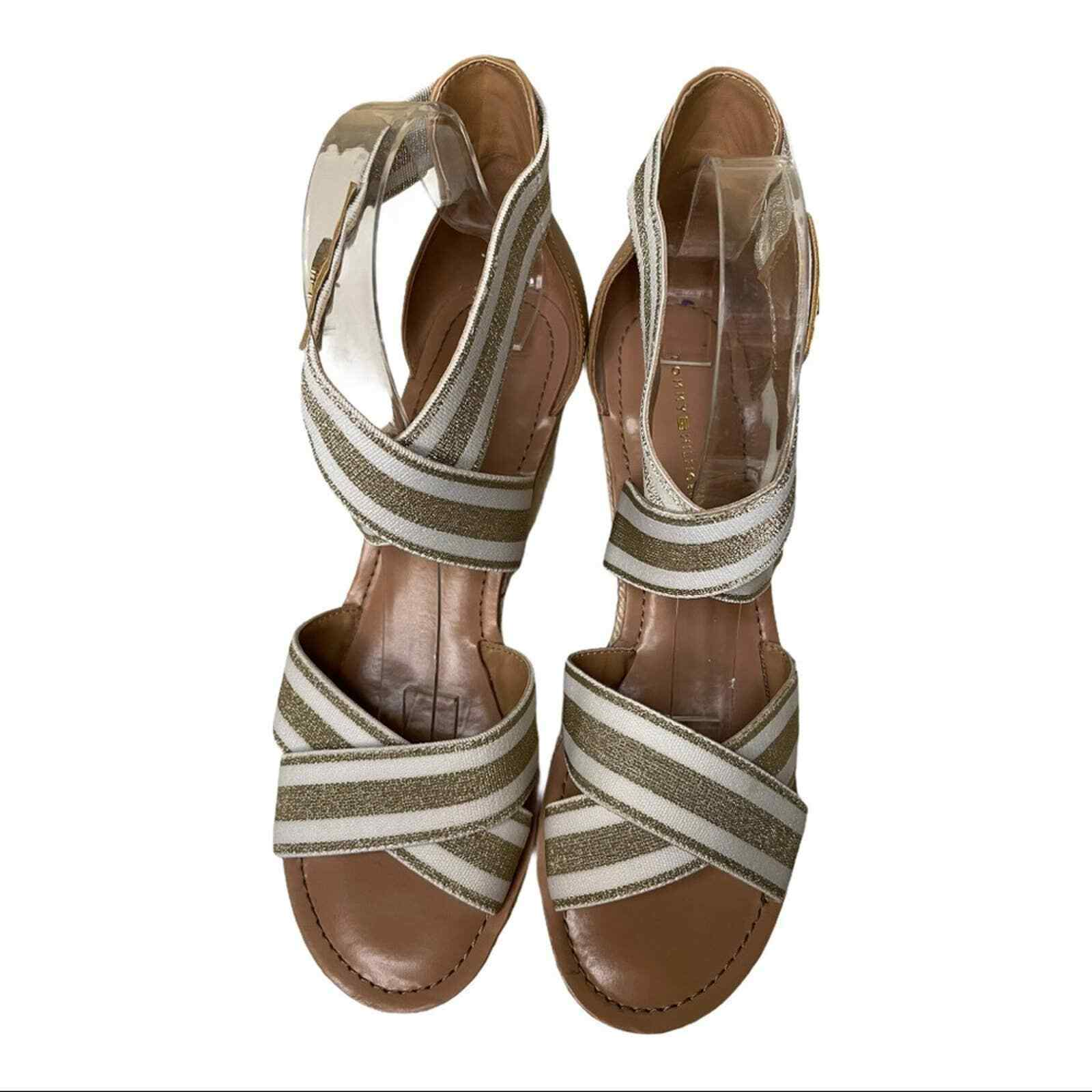 Tommy Hilfiger Theia Wedges Size 8.5 - image 3