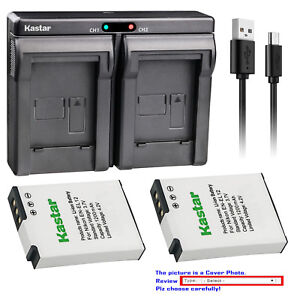 Kastar-ENEL12-battery-charger-for-Nikon-EN-EL12-MH-65-AW100-AW100s-AW110-AW110s