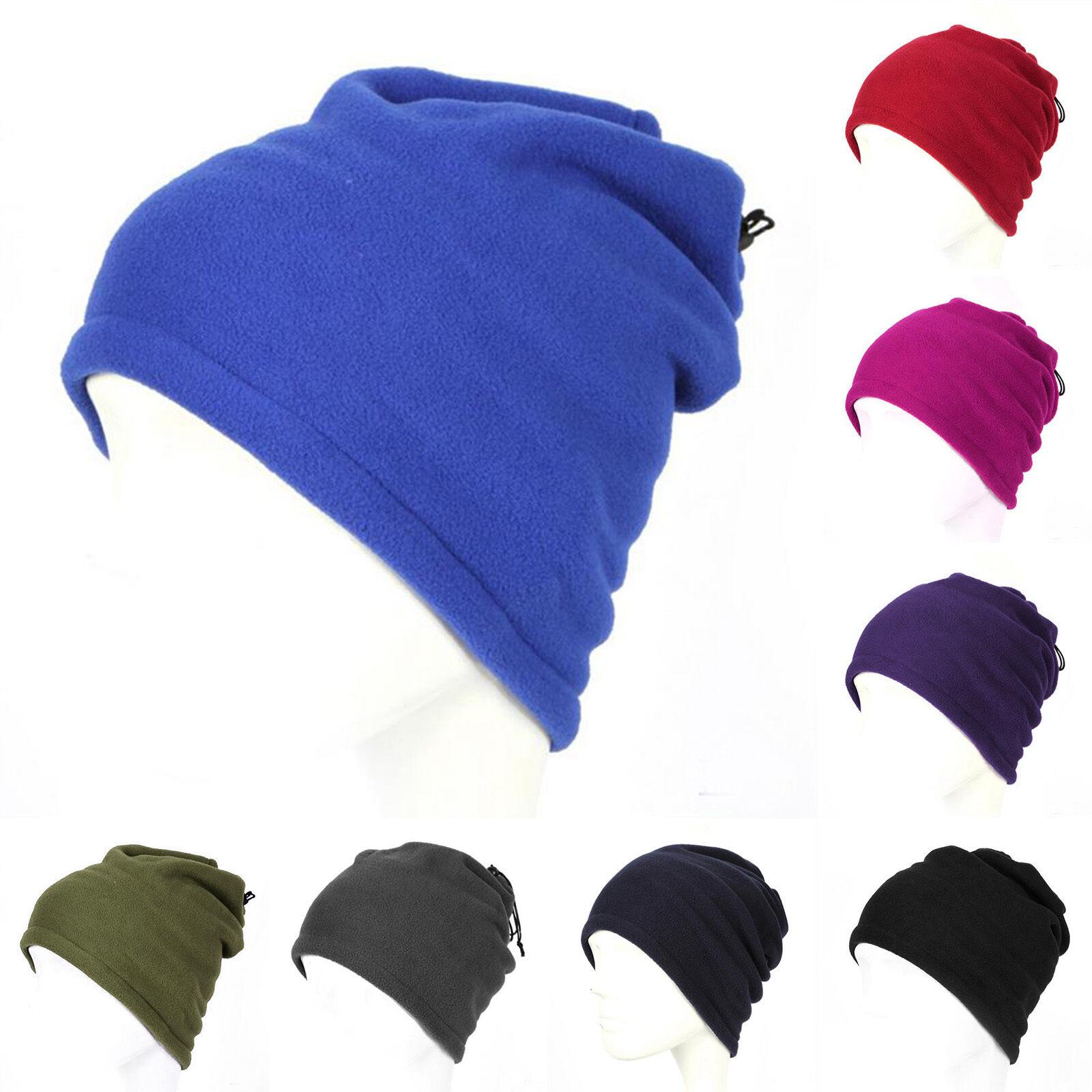 Nueva mujer cuello calentador térmico redecilla sombrero esquí desgaste  bufanda gorro pasamontañas de lana a7c27e7479d