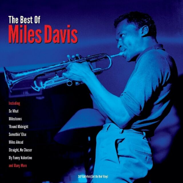 The Best of Miles Davis 3LP Gatefold Set on RED Vinyl LP Record 20 Great Tracks