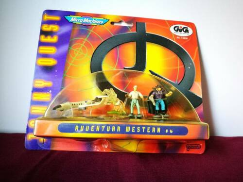 JONNY QUEST MICRO MACHINES GIG GALOOB 1991 VINTAGE TOYS