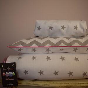 Image Is Loading 100 Cotton Cot Bed Duvet Cover Set S