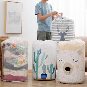 Foldable-Storage-Bag-Clothes-Blanket-Quilt-Closet-Sweater-Organizer-Box-Pouches