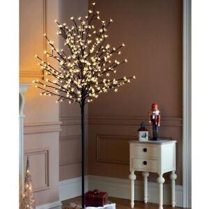 lichterbaum 220 cm 400 led warmwei au en kirschbl ten sakura baum lichterkette ebay. Black Bedroom Furniture Sets. Home Design Ideas