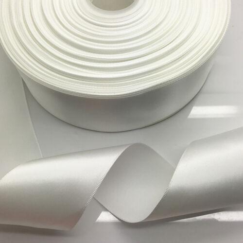 New DIY10//15//20//25//40//50MM Width Satin Ribbon Multi-Purposes Wedding Party Craft