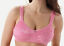 Breezies Bra Seamless Floral Side Smoothing Unlined Wirefree Bra A301382