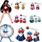 Sailor Moon Costume Cosplay Uniform Fancy Dress Up Sailormoon Outfit & Glove D