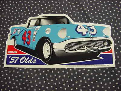 Richard Petty  1957   Oldsmobile  Nascar   decal