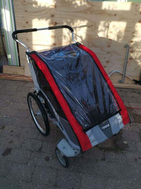 Cykelanhænger, Thule chariot cougar 2, Flot…