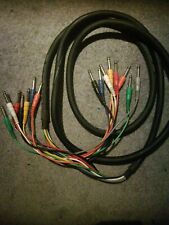 "Hosa CPR802 8 Way 1//4/"" Jack To Jack Unbalanced Snake Cable Loom 2m"