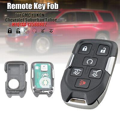Bundle Chevrolet Tahoe 2015-2018 Chevy Suburban 2015-2018 GMC Yukon 2015-2019 Replacement Key fob Remote