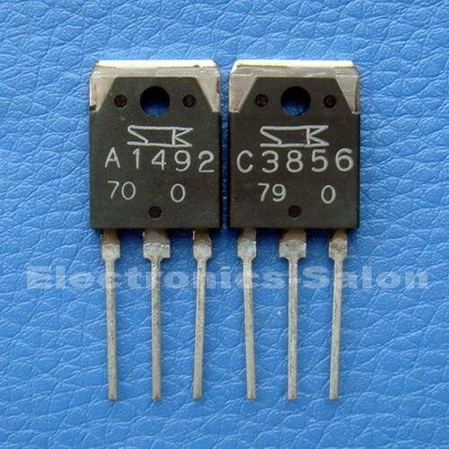 x10 2SA1492 2SC3856 SANKEN High Power Audio Transistor