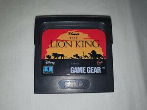 jeu séga gamegear en loose LE ROI LION / THE LION KING