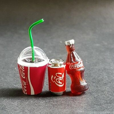"""1984 MINIATURE Doll House 1//2/"""" Coke Can  Coca-Cola LOOK"""