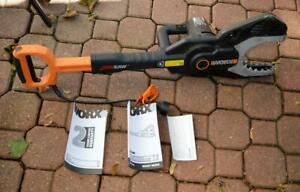 Worx-JawSaw-Electric-Chain-Saw-model-WG308-no-extension-pole-used-once-twice
