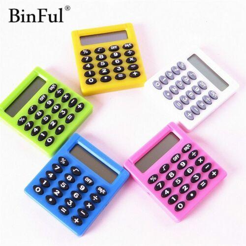 BinFul Boutique Stationery Small Square Calculator Personalized Mini Candy Color
