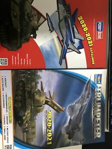 HobbyBoss and Trumpeter 2020-2021 CATALOGUE Newest Models Books