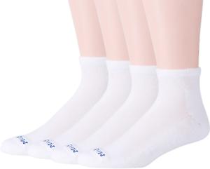 MediPEDS-Men-039-s-8-Pack-Diabetic-Quarter-Socks-with-Non-Binding-Top