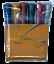 Colourworld Glitter Metallic Pens Colouring Markers 6 Pk Washable Art Craft Kids