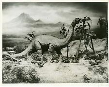 IRWIN ALLEN RAY HARRYHAUSEN THE ANIMAL WORLD 1956 VINTAGE PHOTO ORIGINAL #9
