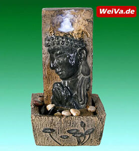 weiva hochwertiger led zimmerbrunnen mit figuren im feng. Black Bedroom Furniture Sets. Home Design Ideas