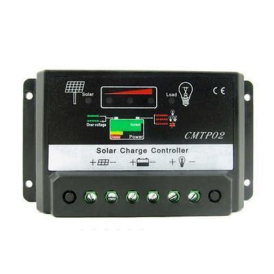 5/10/15/20/30A MPPT Solar Panel Battery Regulator Charge Controller CE 12V/24V T