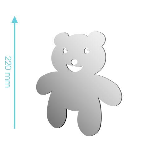 Nouveau acrylique ours en peluche pour enfants jouet en peluche miroir-tailles 100mm à 1200mm