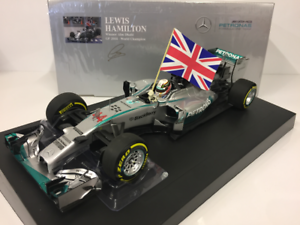 Minichamps 110140544 L.Hamilton Winner Abu Dhabi World Champion 2014 Scale 1 18