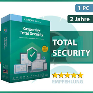 Kaspersky Total Security 2021 1 Gerät oder PC - 2 Jahre - Download / Key