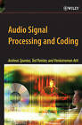 Audio Signal Processing and Coding by Venkatraman Atti, Andreas Spanias, Ted Painter (Hardback, 2007)