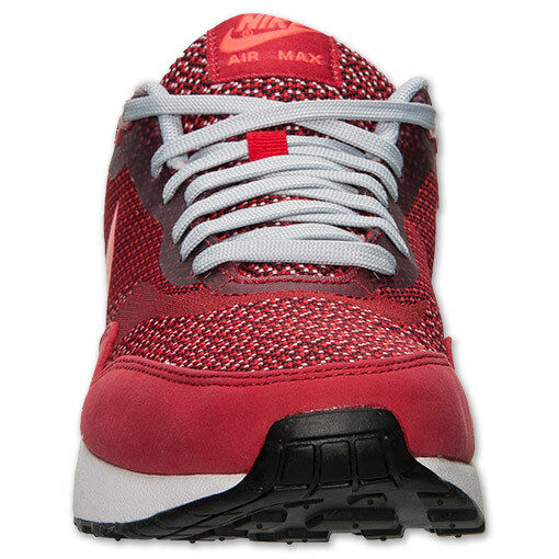 Men's Nike Air Max 1 JCRD RUNNING SHOES Size 12 GYM RED LASER 644153 600 NEW