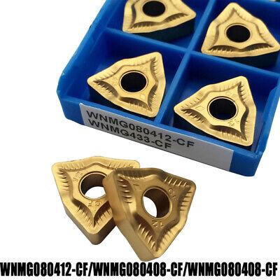 WNMG080408-MT WNMG432-MT 10pcs carbide inserts for Steel Apply SANDVIK ISCAR ZCC