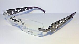 Original-BX-by-Flair-Brille-Eyeglasses-Gafas-Randlos-Damen-NEU