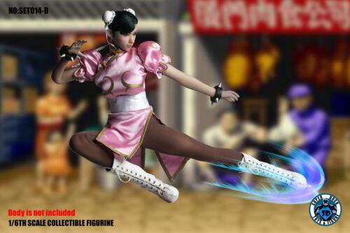 In magazzino 1//6 STREET FIGHTER Chun Li Outfit Set Usa Capcom Phicen Toys HOT Ryu