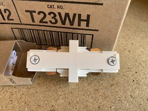 JUNO TRAC-LITES R23 BL Mini Straight Connector Black JUNO LIGHTING GROUP