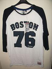 Camiseta De Estilo De Béisbol Jersey Soulstar Boston, TAMAÑO MEDIO, NUEVO