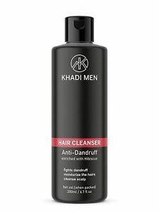 Khadi Men Anti-Dandruff Hair Cleanser, 200 ml